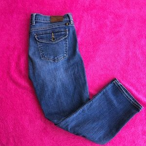 2/$15 LUCKY BRAND CROPPED JEANS WOMENS SIZE 6/28